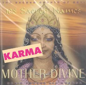CD MUSICA | CD MUSICA 108 SACRED NAMES OF MOTHER DIVINE (CRAIG PRUESS & ANANDA)