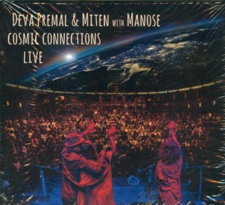 CD MUSICA | CD MUSICA COSMIC CONNECTIONS LIVE (DEVA PREMAL & MITEN & MANOSE)