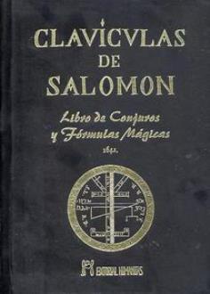 Libros de magia clav culas de salom n lujo mayoristas for Conjuros de salomon